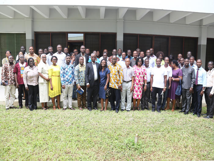 Participants for the first day of the seminar